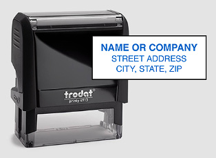 S-5160 Address Stamp